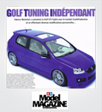 ScaleProduction Tamiya Model Magazine Fujimi Golf ABT transkit article