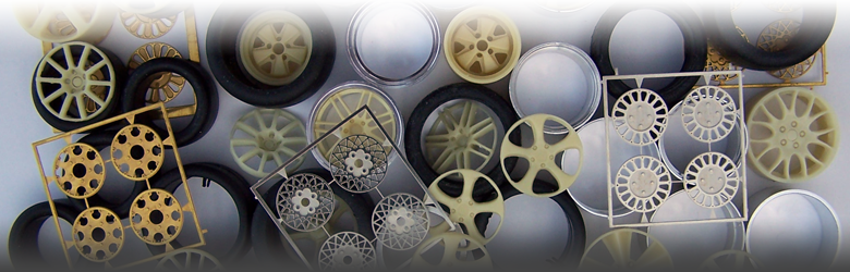 ScaleProduction Wheels and Tires for scale models