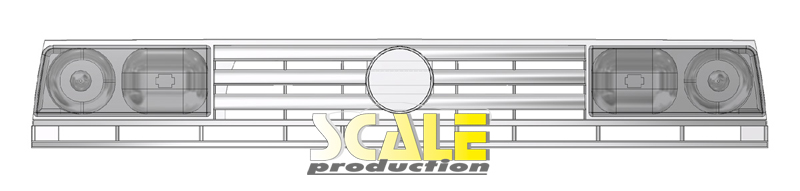 ScaleProduction Golf Mk2 Rallye for Fujimi grille