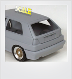 ScaleProduction Volkswagen Golf Mk2 transkit for Fujimi