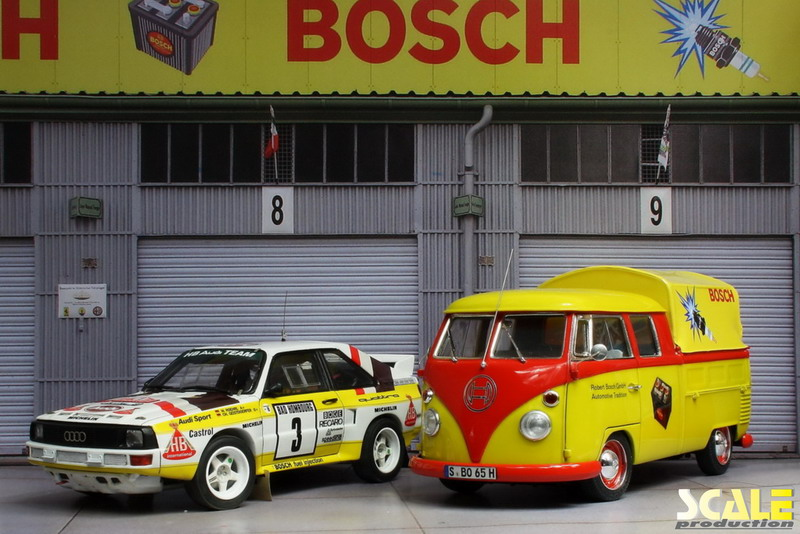 ScaleProduction Diorama Historic Paddock Nürburgring