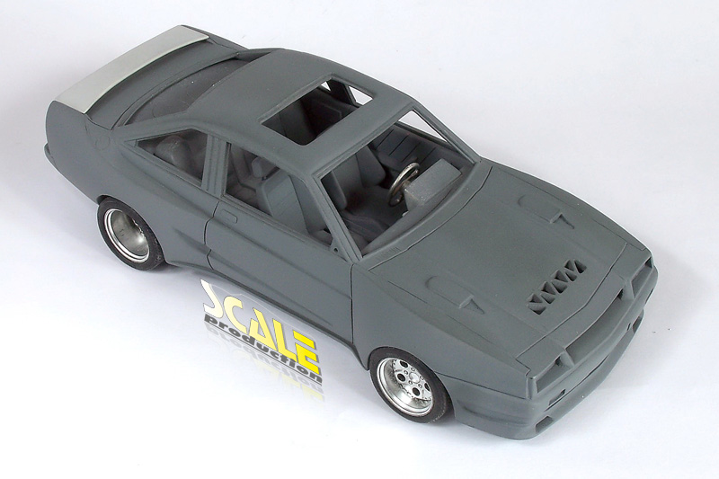 ScaleProduction Mattig Manta full-detail resin kit