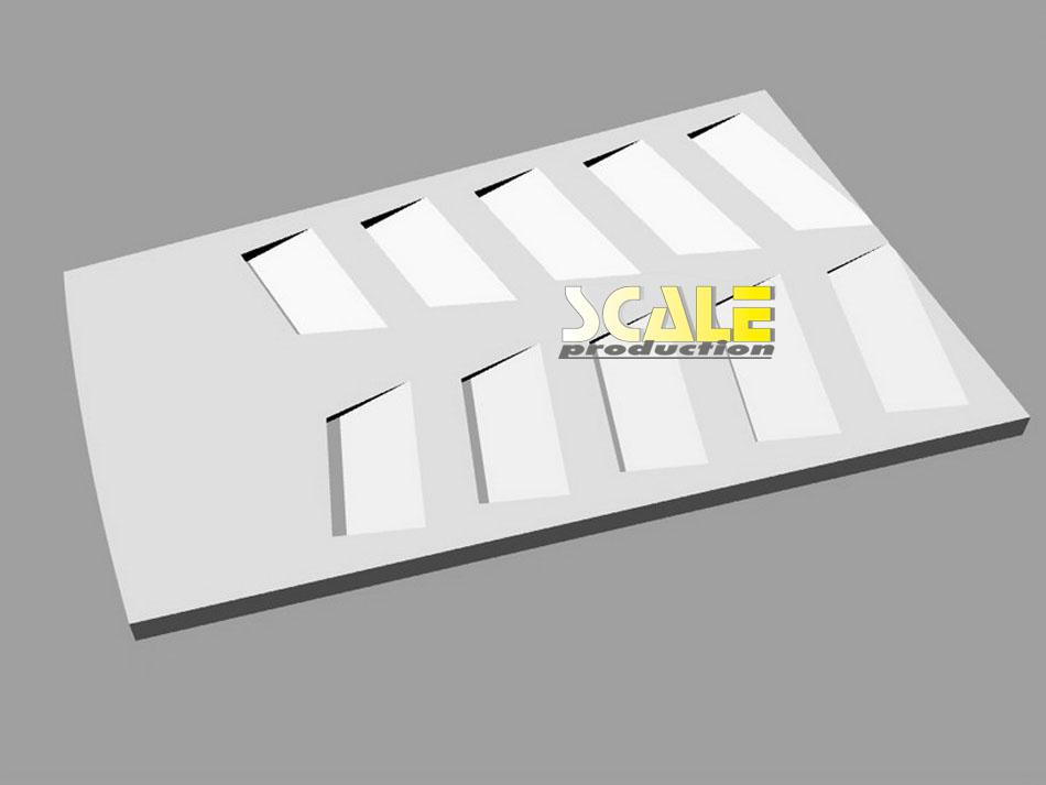 Gallardo LP600+ transkit for Fujimi Gallardo | © ScaleProduction (2012)