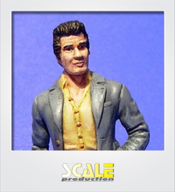 ScaleProduction resin figure Detective Jim