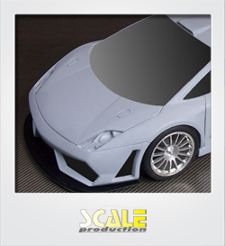 ScaleProduction Gallardo LP600+ GT3 slot racing kit