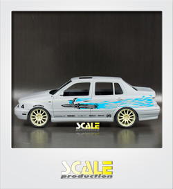 ScaleProduction Vento/Jetta Mk3 transkit for Fujimi Golf Mk3