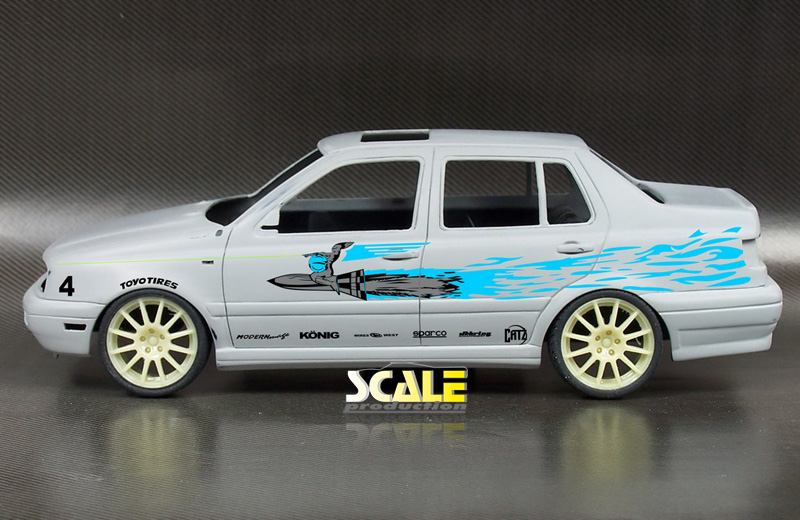 ScaleProduction Vento / Jetta transkit decals