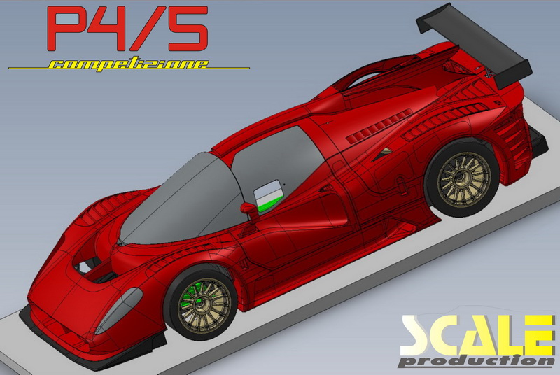 ScaleProduction Glickenhaus P4/5 24h Nürburgring racecar