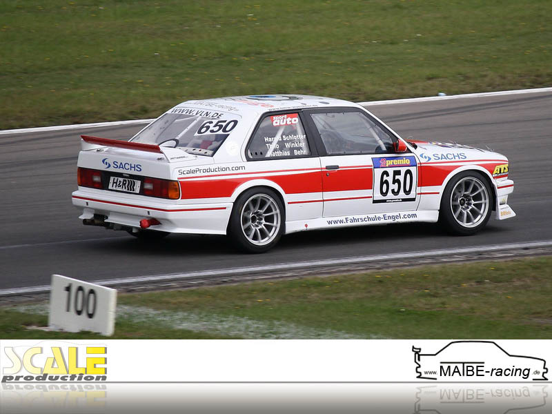 ScaleProduction MATBE-racing VLN 2012 ROWE 250 Meilen Rennen