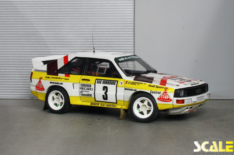 ScaleProduction Museum Audi Sport Quattro