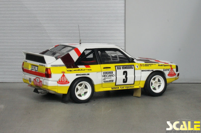 ScalePrduction Museum Audi Sport Quattro