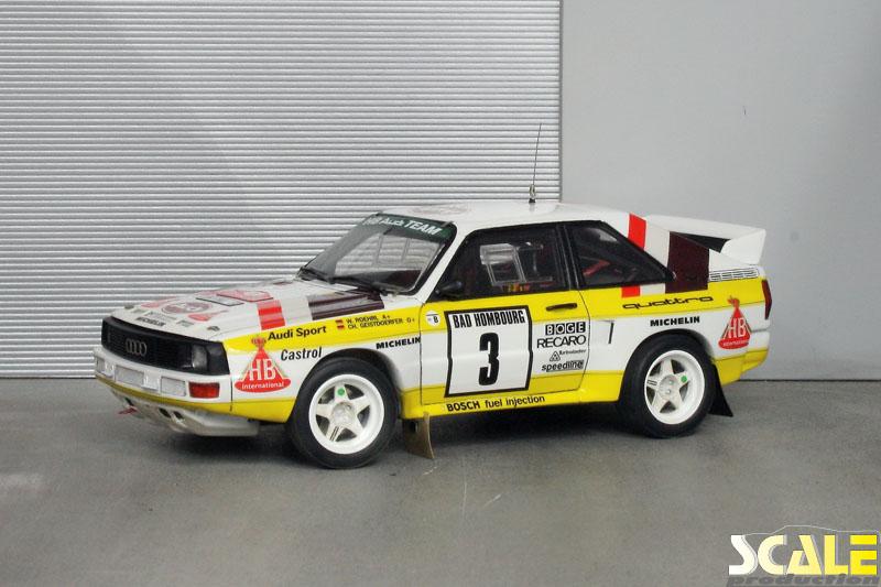 187 Audi Sport Quattro Rallye Monte Carlo 1985 Scaleproduction