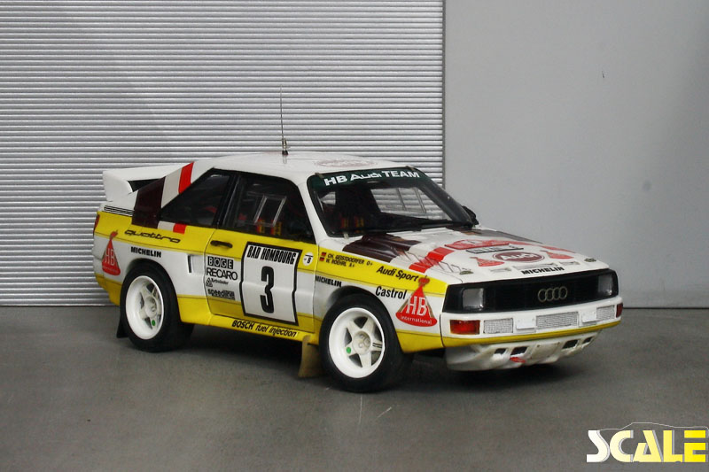Audi Sport Quattro ScaleProduction Museum