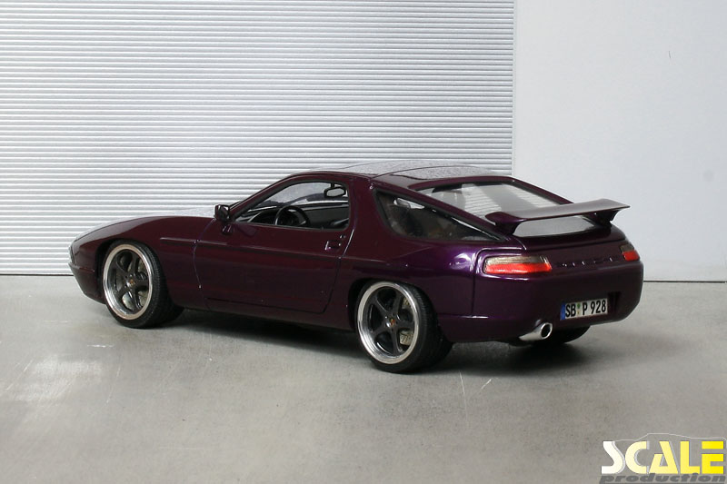 "Porsche 928 GT with 19"" RUF wheels 