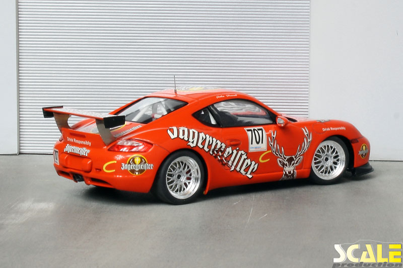 ScaleProduction Porsche Cayman Interseries Jägermeister