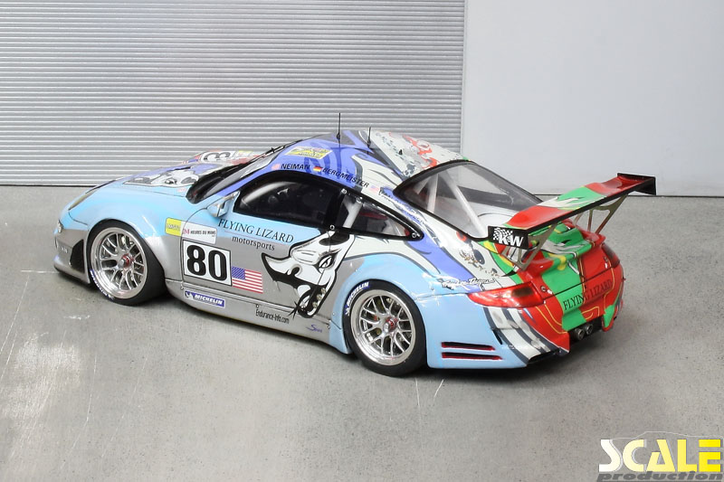 Porsche 997 GT3RSR Flying Lizard LeMans 2007 | c ScaleProduction 2012