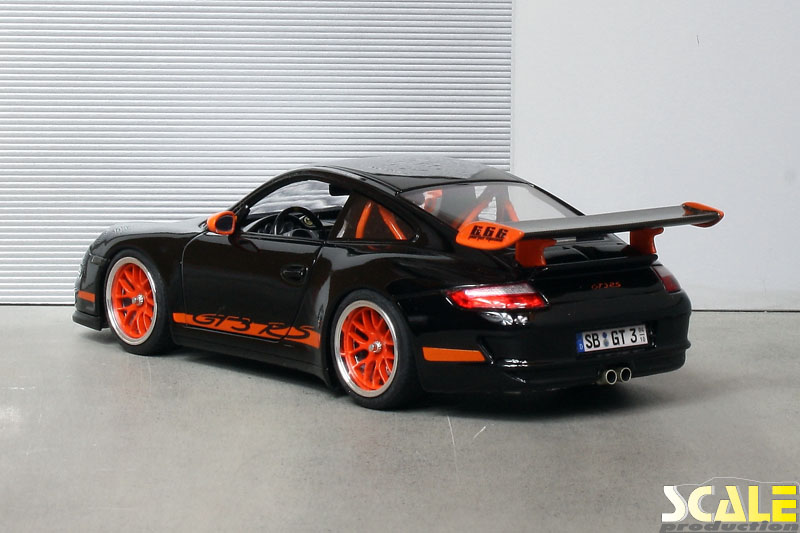 "Porsche 997 GT3 RS with 18"" BBS wheels 