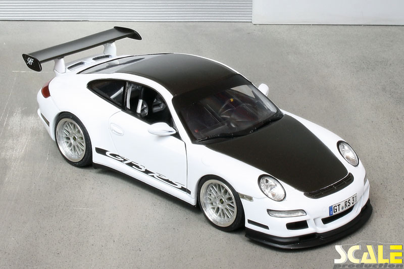 """Porsche 997 GT3 RS with 18"""" BBS LM wheels 