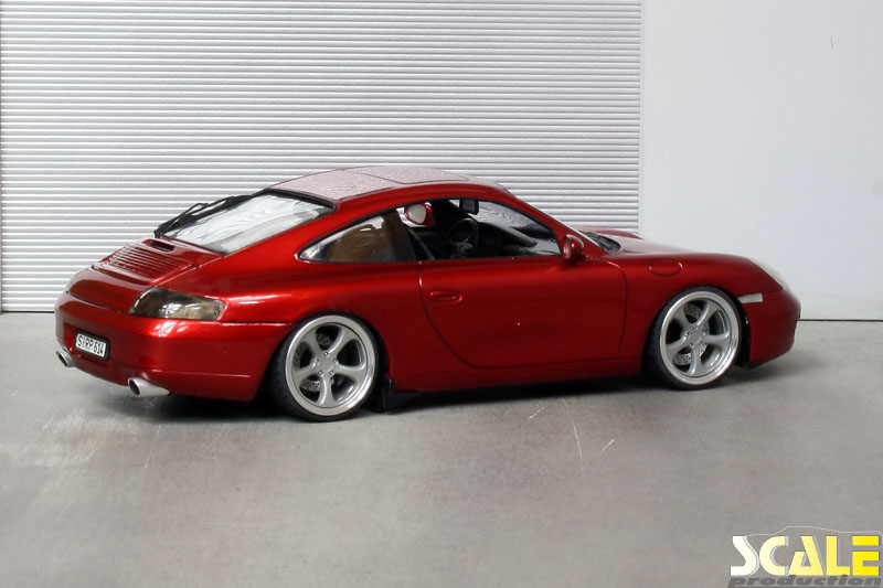 """Porsche 996 Carrera with 18"""" RUF wheels 