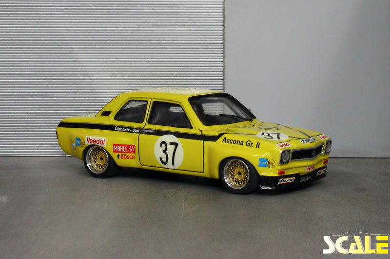 ScaleProduction Museum Opel Ascona A Gr. 2 Steinmetz CK Motorsport Design