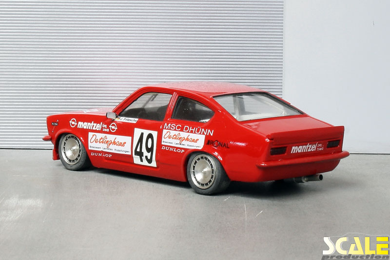 ScaleProduction Museum Opel Kadett C Coupé