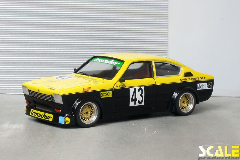 Opel Kadett C Coup GTE ScaleProduction