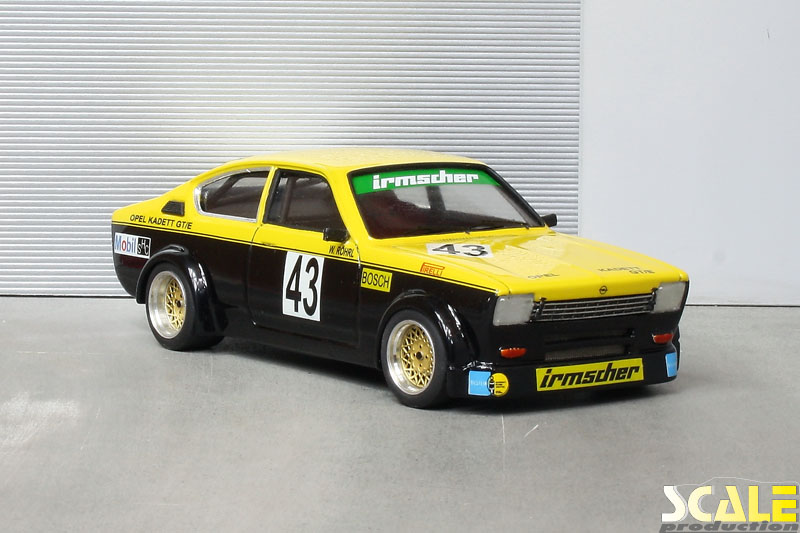 ScaleProduction Museum Opel Kadett C Coupé GT/E