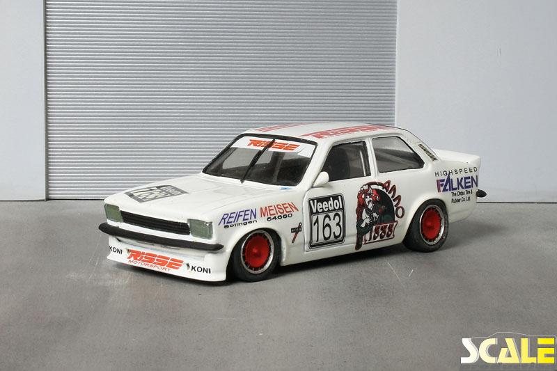 ScaleProduction Museum Opel Kadett C Limousine Risse Motorsport