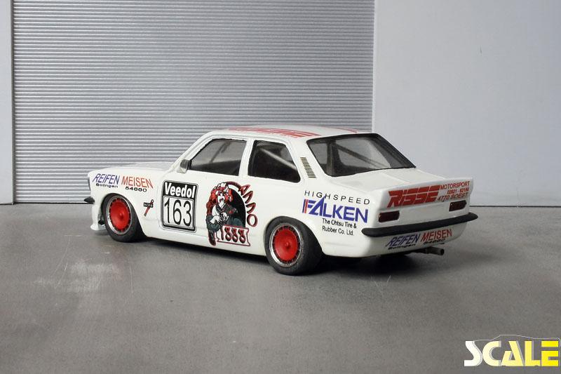 Opel Kadett C Limousine Risse Motorsport ScaleProduction