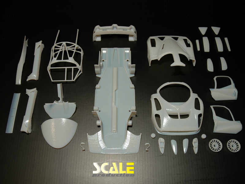 ScaleProduction P4/5 Competizione Testshot parts