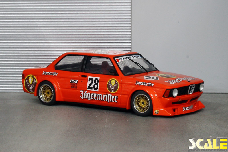 ScaleProduction Museum BMW E21 320i Group 2 Jägermeister