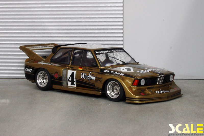 ScaleProduction Museum BMW E21 320i Group 5