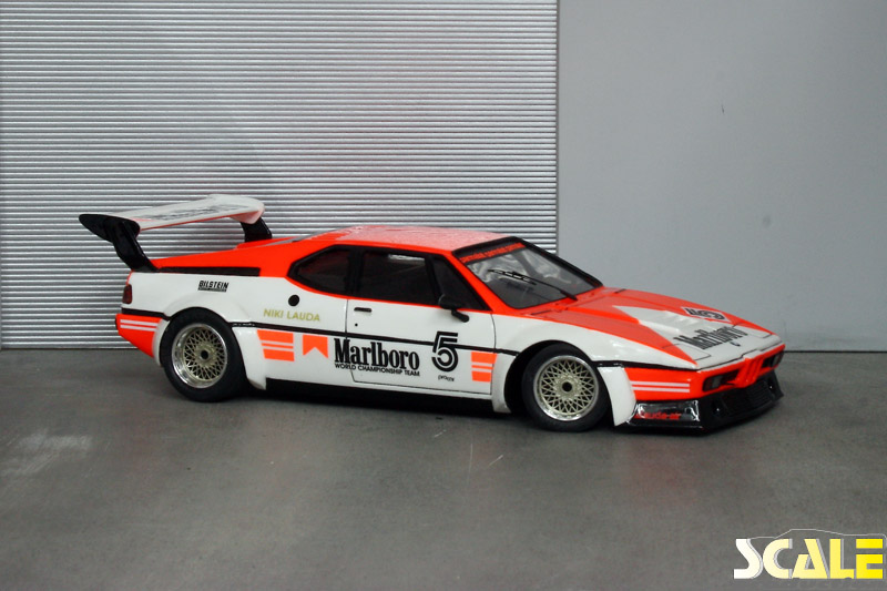 ScaleProduction Museum BMW M1 E26 Marlboro