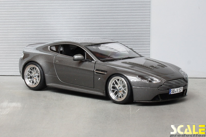 ScaleProduction Museum Aston Martin V12 Vantage with BBS wheels